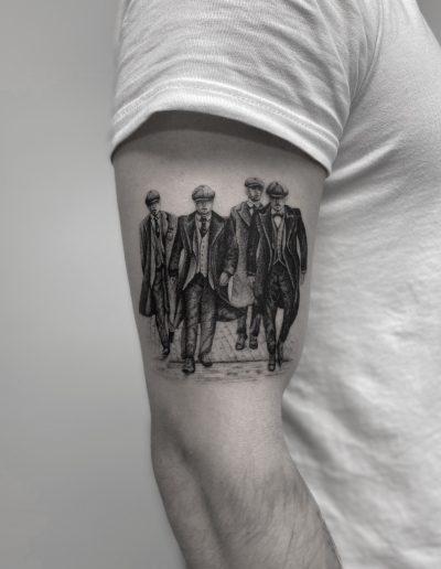 gergo augusztiny hungary budapest peaky blinders tattoo