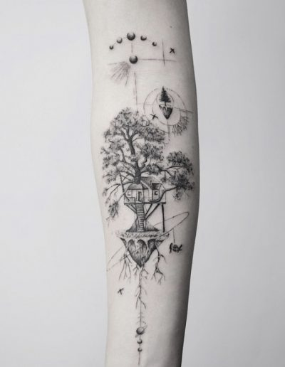 gergo augusztiny hungary budapest fineline nature tattoo
